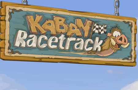 دانلود بازی آنلاین سرگرم کننده مسابقه خوک ها kabay racetrack