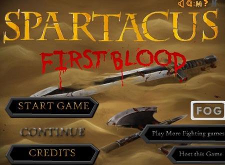 دانلود بازی آنلاین نبرد اولین خون اسپارتاکوس spartacus first blood