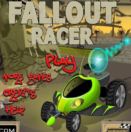 دانلود بازی آنلاین  اکشن وماشین عواقب مسابقه fallout racer