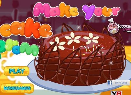بازی دخترانه آشپزی : درست کردن کیک همراه با دانلود make your cake prom