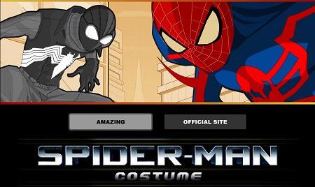 دالود بازی فلش آنلاین طراحی لباس مرد عنکبوتی spiderman