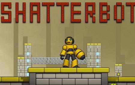 دانلود بازی سرگرم کننده آنلاین ربات تیر انداز shatterbot