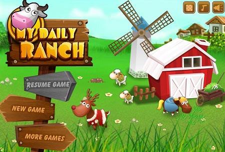 دانلود بازی مدیریت آنلاین مزرعه روزانه من my daily ranch
