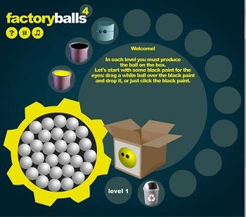 دانلود بازی آنلاین فکری سخت کارخانه توپ سازی