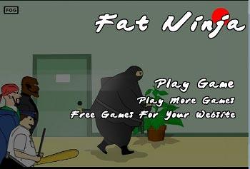 دانلود بازی آنلاین نینجا چاق یا نینجای چاقالو