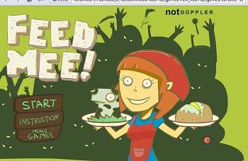 دانلود بازی آنلاین رستوران داری غذا دادن به زامبی ها