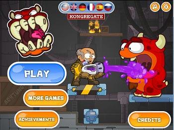 دانلود بازی آنلاین فکری بامزه ی غذا دادن به هیولاها