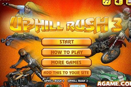 دانلود بازی حرکات نمایشی با موتور متفاوت uphill rush 3 آنلاین