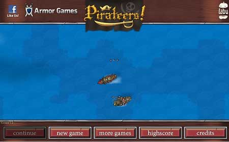 دانلود بازی ناخودای کشتی وکشتی رانی متفاوت pirateers آنلاین