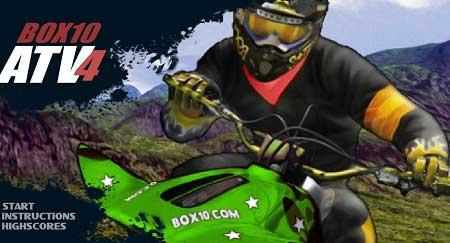 بازی موتور سواری جاده ای ATV4 آنلاین