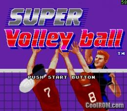دانلود بازی سگا والیبال Super Volleyball برای کامپیوتر