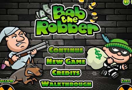 دانلود بازی سرگرم کننده باب دزد حرفه ای bob the robber آنلاین