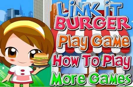 دانلود بازی پازل متفاوت غذا های آنلاین link it burger