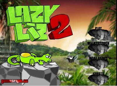 دانلود بازی سرگرم کننده جدید مارمولک lazi liz 2