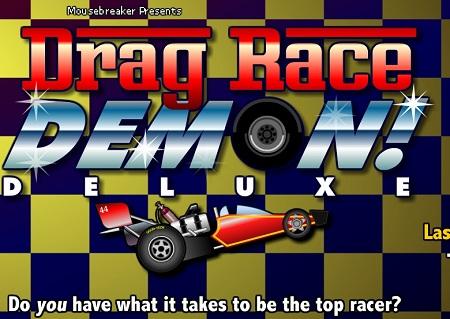 دانلود بازی مسابقه ماشین باموس Drag race آنلاین