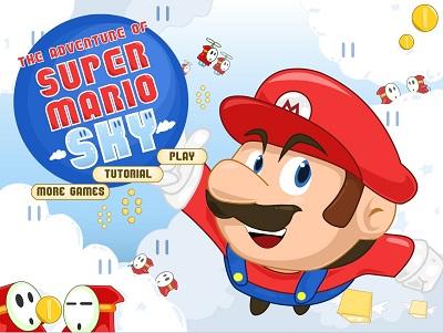 دانلود بازی آنلاین سوپر ماریو در آسمان