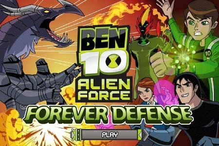 دانلود بازی جدید اتحادیه بن تن Ben 10 Alien force آنلاین