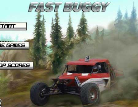 دانلود بازی رانندگی ماشین در صحرا fast buggy