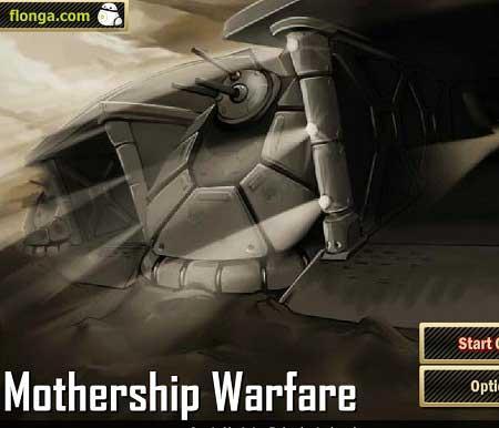 دانلود بازی استراتژیک قلعه مادر Mothership Warfare آنلاین