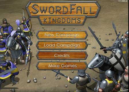 دانلود بازی استراتژیک وکشورگشایی SwordFall Kingdoms آنلاین