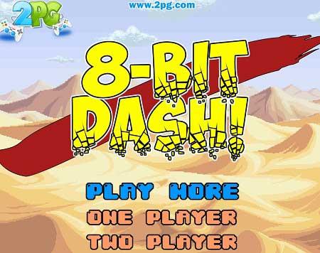 دانلود بازی جدید و سرگرم کننده ماشین 8 Bit Dash