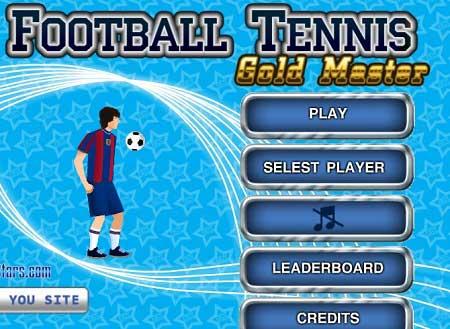 دانلود بازی مسابقات تنیس فوتبال مستر football tennis gold master