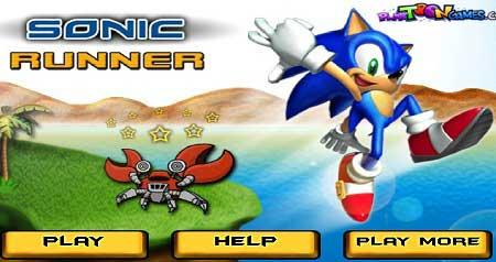 بازی جدید سونیک  sonic runner آنلاین