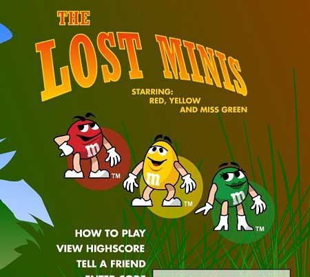دانلود بازی اسمارتیز M&M the lost minis آنلاین