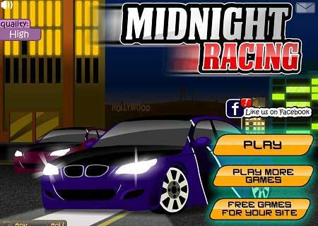 دانلود بازی ریسینگ در شب Midnight racing
