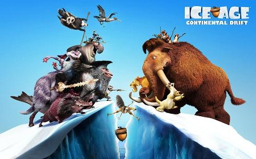 دانلود کارتون انیمیشن عصر یخ بندان 4 با دوبله فارسی