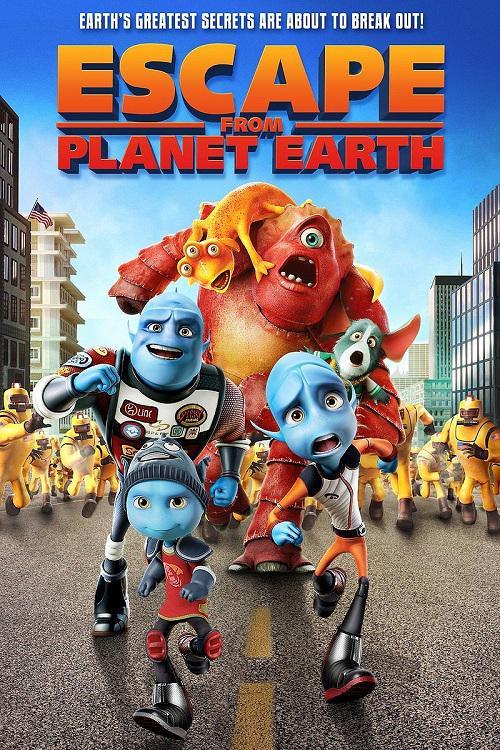 دانلود کارتون انیمیشن فرار از کره زمین Escape From Planet Earth با لینک مستقیم