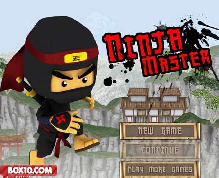 بازی آنلاین نینجای استاد همراه با دانلود ninja master