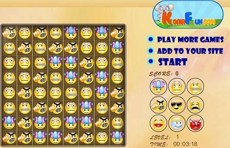 بازی پازل آنلاین چهره های خندان همراه با دانلود