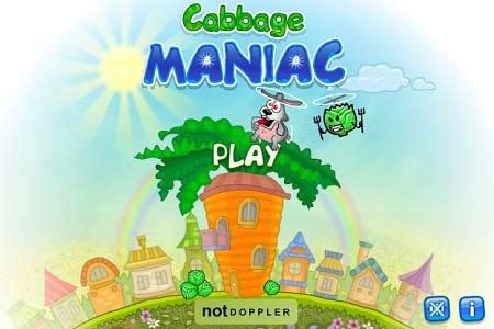 بازی کارتونی و کودکان دیوانه کلمcabbage maniac + دانلود