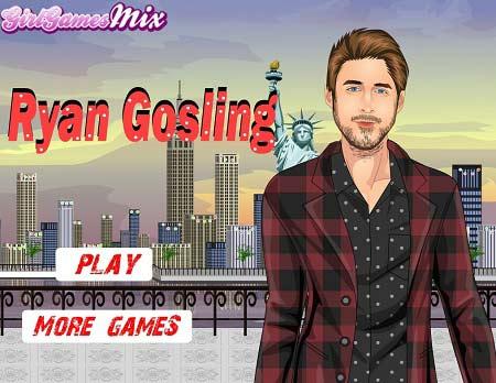 دانلود بازی طراحی لباس رایان گاسلینگ Ryan Gosling