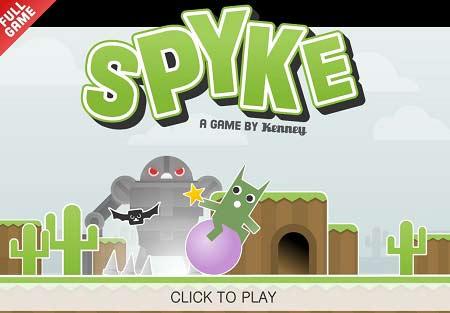 دانلود بازی آنلاین سرگرم کننده کودکان spyke