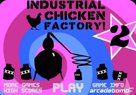 دانلود بازی باموس مرغ داری صنعتی industrial chicken factory