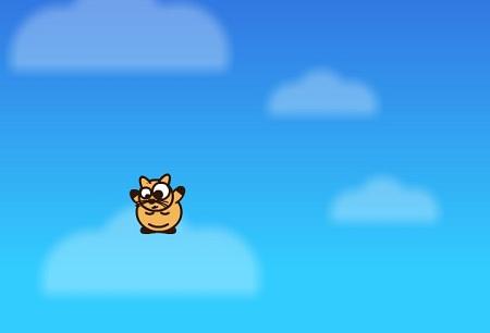 دانلود بازی سرگرم کننده و بامزه گربه پرنده cat jump