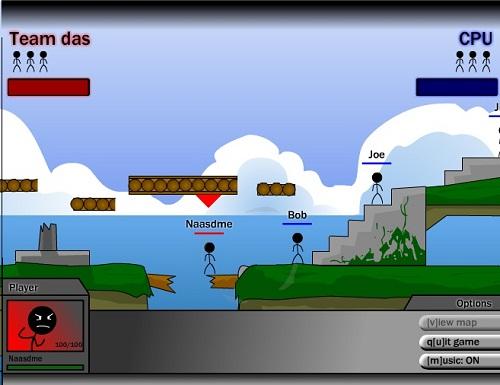 بازی فلش آنلاین دوئل duel
