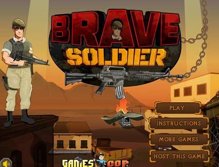 دانلود بازی آنلاین دفاع از قلعه و تیراندازی سرباز شجاع Brave Soldier