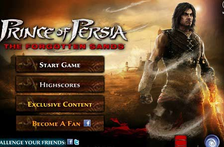 دانلود بازی آنلاین اکشن و شمشیری شاهزاده ایرانی prince of persia