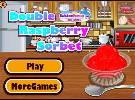 دانلود بازی آشپزی آنلاین دابل کیک تمشک double raspberry sorbet
