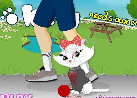 دانلود بازی سلام کیتی بی صاحب kitty needs owner