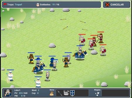 دانلود بازی فلش آنلاین لشکرکشی و شمشیری-anacroz