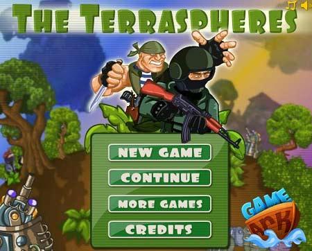 دانلود بازی آنلاین مامریتی فضایی The Terraspheres