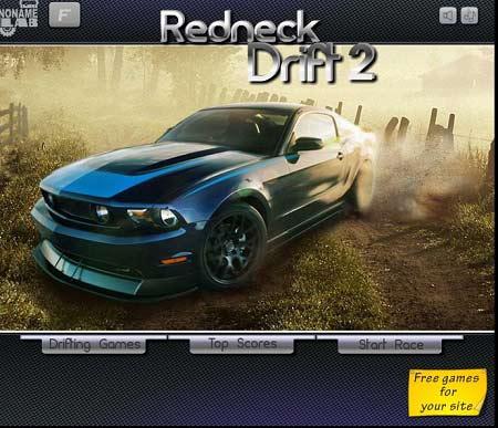 دانلود بازی آنلاین دریفت ماشین های ردنک redneck drift 2