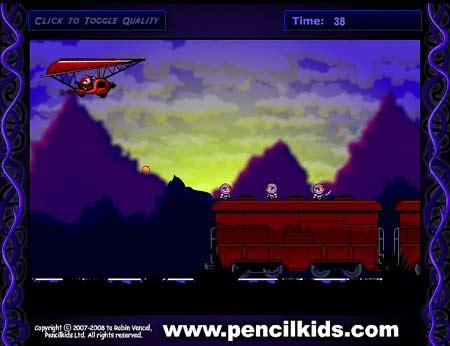 دانلود بازی آنلاین با موس ماموریت نینجا bowja the ninja 2