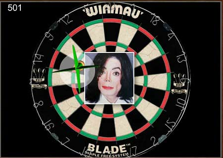 دانلود بازی دارت با چهره های معروف celebrity darts