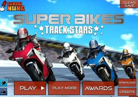 بازی آنلاین فوق ستاره های موتور سواری