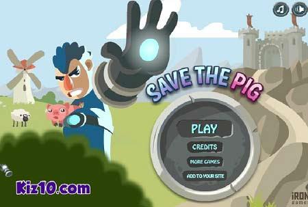 بازی آنلاین نجات خوک